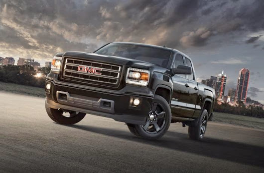 All About Vehicles: GMC introduced 2015 GMC Sierra Elevation Edition