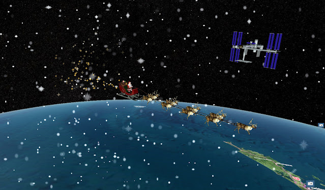 Ho Ho Ho! Santa Claus Plans Socially Distant (and Out of this World) Visit to the International Space Station