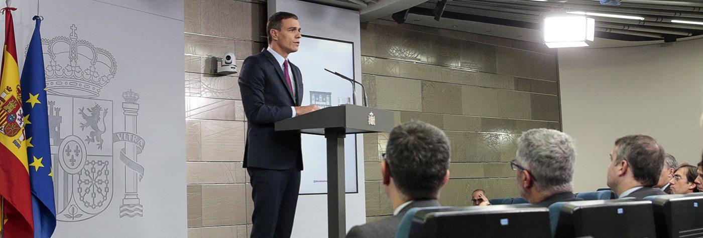"""Pedro Sánchez invita a los partidos a """"dejar en segundo plano sus intereses"""", para así """"dar una respuesta unitaria"""" al desafío catalán"""