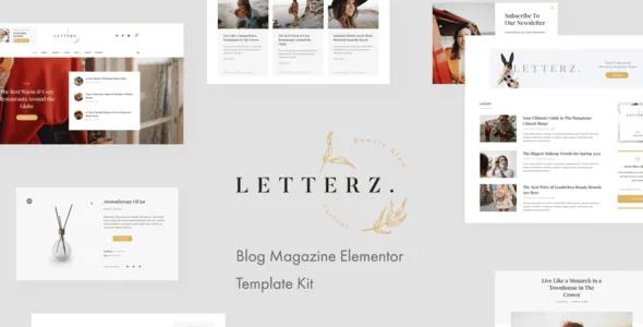 Best Blog Magazine Elementor Template Kit