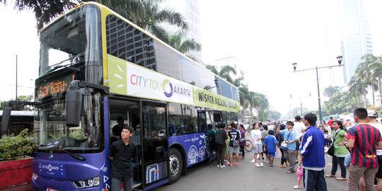 Bus Tingkat Gratis Bakal Melintas Di Jalur ERP