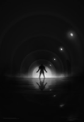 Batman Noir Fine Art Giclee Print Series by Marko Manev x Bottleneck Gallery