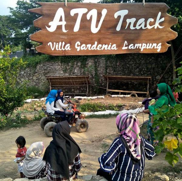 arena bermain atv di vila gardenia
