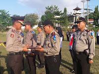 Kapolres Lampung Utara Berikan Reward dan Punishment