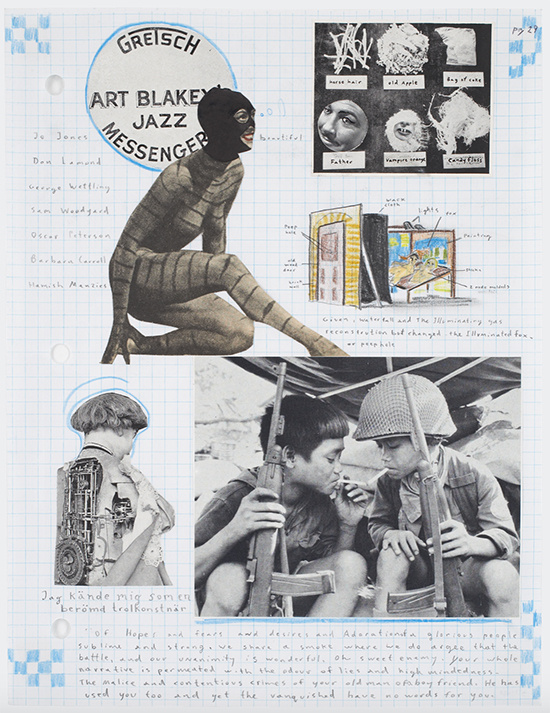 Marcel Dzama Untitled, 2007 Sketchbook page -- mixed media on paper 27.9 x 21.6 cm