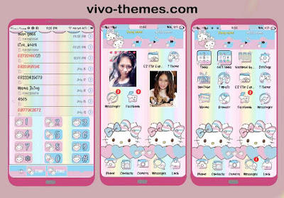 Pink Credit Card Theme For Vivo Android Smartphone