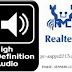 تحميل برنامج Realtek High Definition Audio driver لتعريف جميع كروت الصوت لجميع الأجهزة مجانا