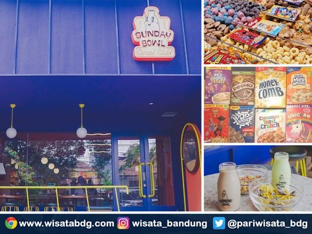 Sunday Bowl Cereal Club, Tempat Kuliner Baru yang Lagi Ngehits di Bandung