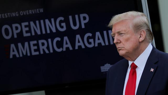 """""""No estamos contentos con China"""": Trump anuncia que EE.UU. realiza """"serias investigaciones"""" sobre el brote de coronavirus"""