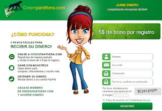 bono de registro greenpanthera