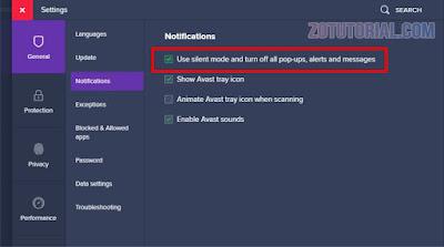 2 Cara Menghilangkan Notifikasi Antivirus Avast di Laptop & PC
