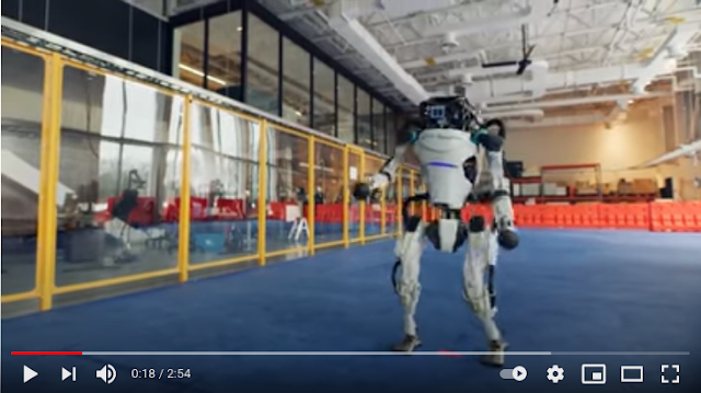 Ρομπότ της Boston Dynamics χορεύουν