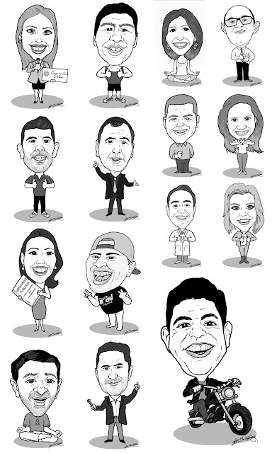 Caricaturas M2LOPES - Por Marcelo Lopes de Lopes