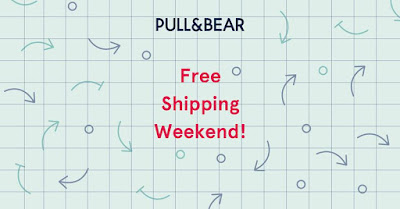 Free Shipping Weekend en Pull and Bear