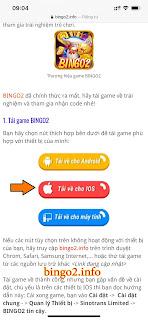 Hướng dẫn tải game Bingo2 trên Iphone, Ipad mới nhất - Bản cài đặt IOS