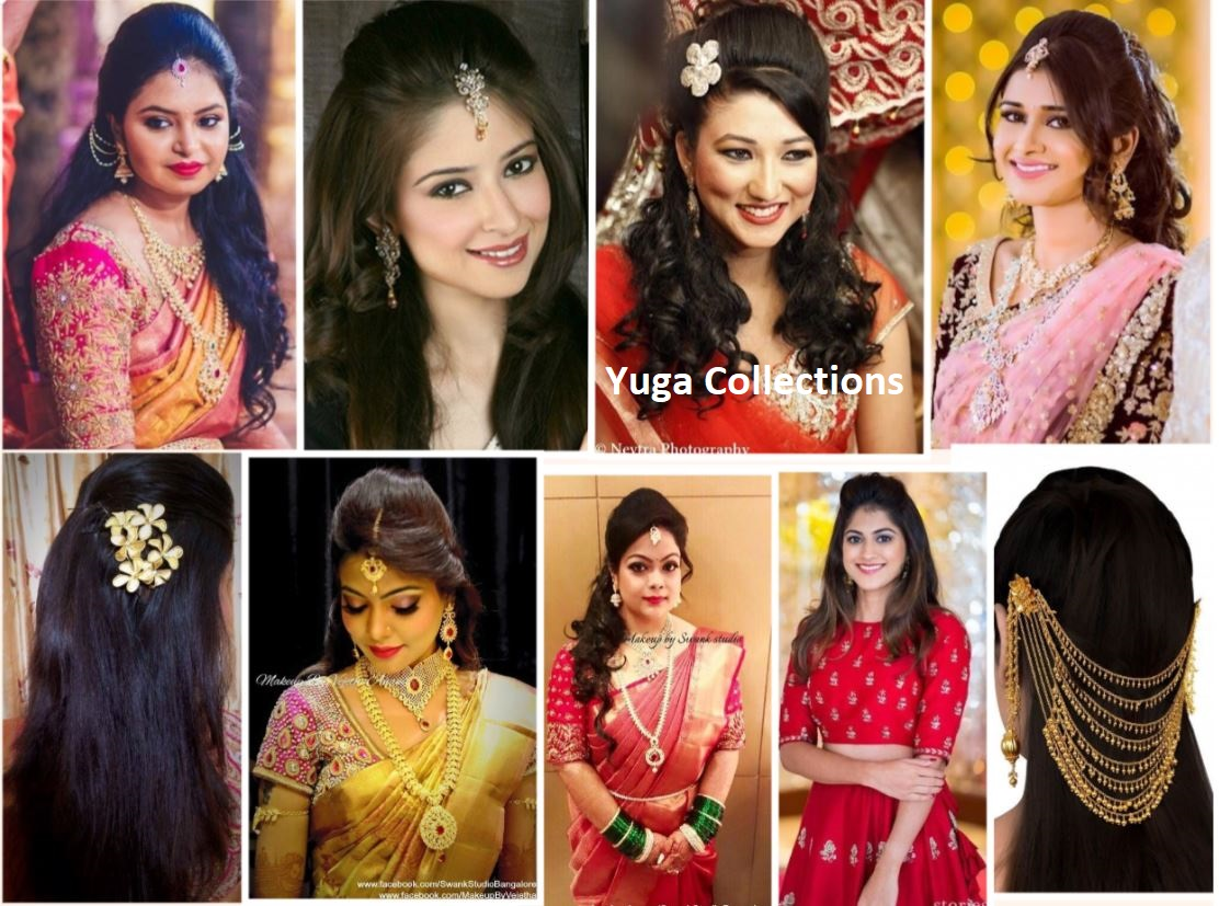 20 Best And Beautiful Indian Bridal Hairstyles For Engagement Wedding