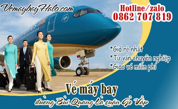 Vé Máy Bay Đường Bùi Quang Là Quận Gò Vấp