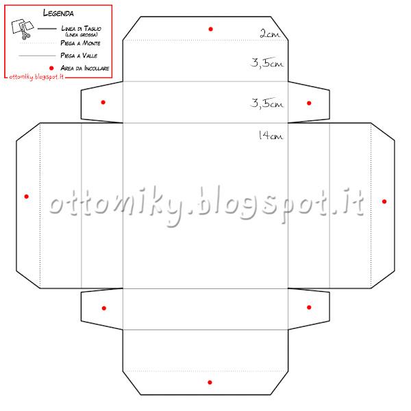 Conosciuto Otto&Miky: Tutorial Display Box - Scatola con coperchio trasparente JX74