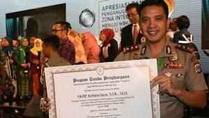 Hebat..! Polres Banjarbaru Raih Penghargaan Bebas Korupsi