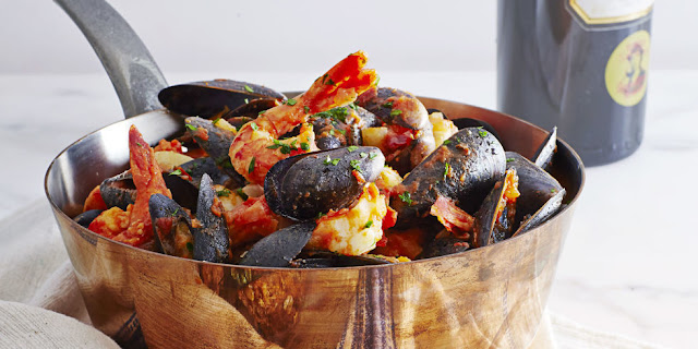 Cioppino: romantic recipes for valentine's day on hello lovely studio
