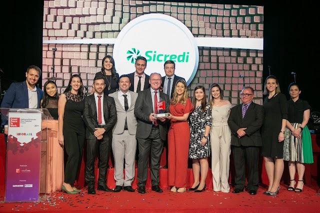 Sicredi Vale do Piquiri Abcd PR/SP é reconhecida mais uma vez como uma das melhores empresas para trabalhar