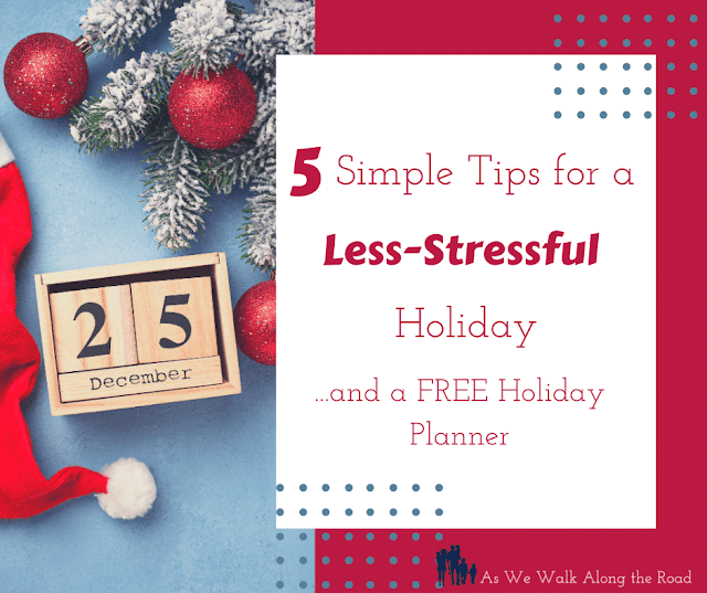 Less-Stressful holiday planning