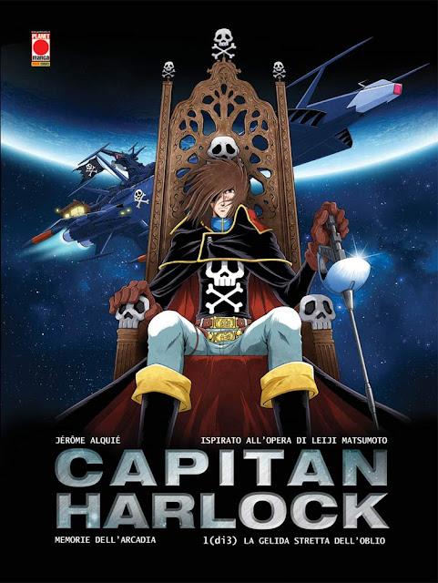 Capitan Harlock Memorie dell'arcadia 1
