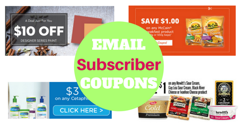 Top 5 Brands With Email Subscriber Coupons & Discounts