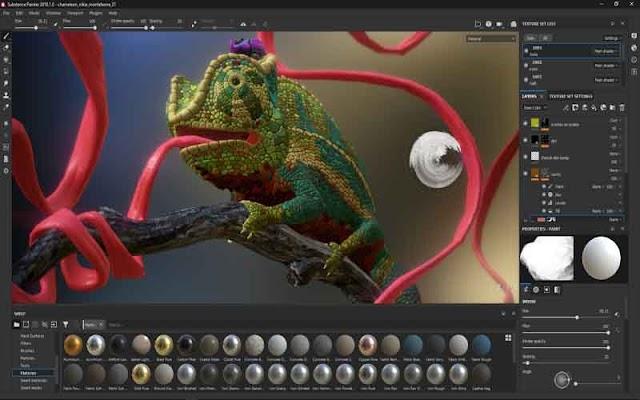 Substance Painter 2019 F.u.l.l – Kết cấu mô hình 3D