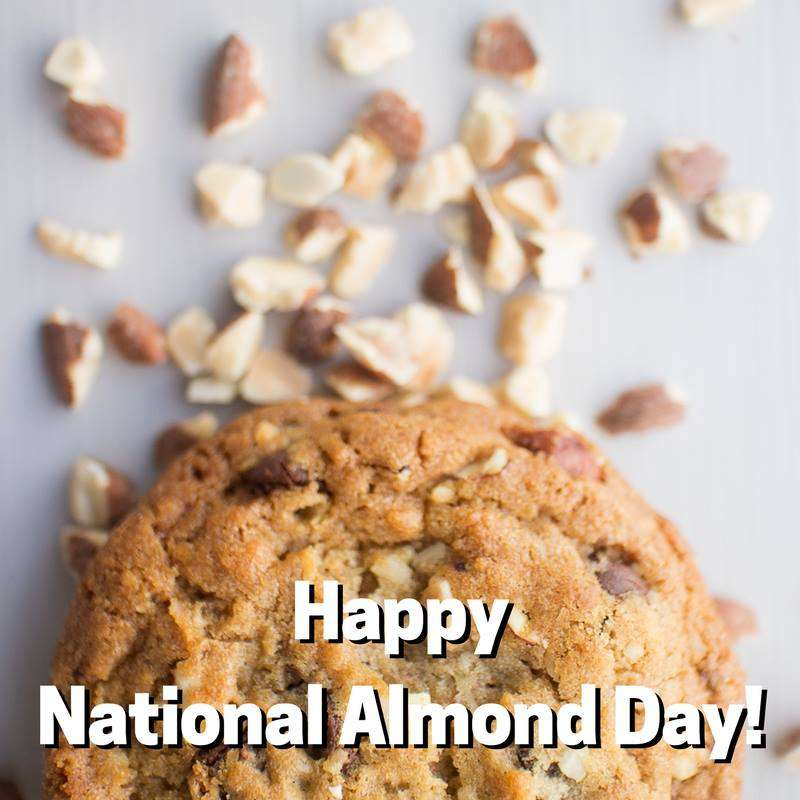 National Almond Day Wishes Images download