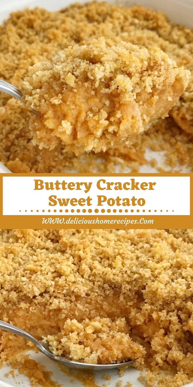 Buttery Cracker Sweet Potato