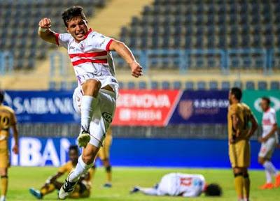طارق حامد لاعب نادي الزمالك