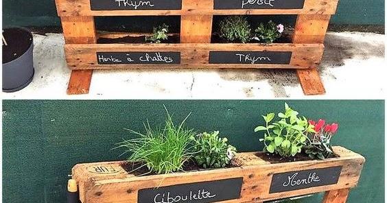 reutilizar palets de madera en huerta casera construccion y manualidades hazlo tu mismo - Jardin Vertical Con Palets