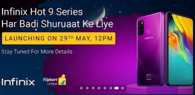 Infinix Hot 9 and Hot 9 pro to launch on may 29 in India: here are the features