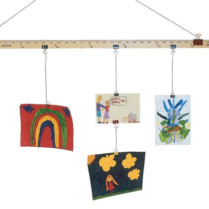 School Art Display