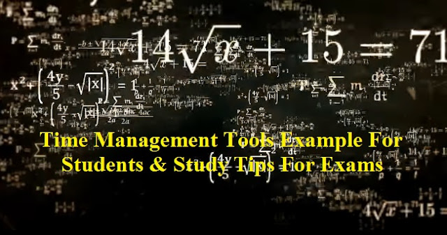 time management examples, study tips for exams, anxiety and depression, how to study effectively, exam time