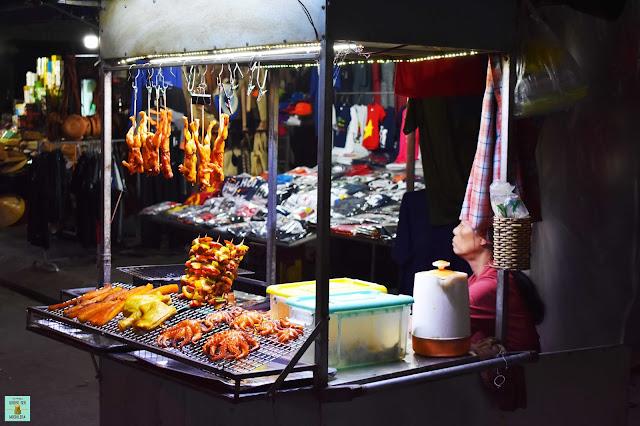 Mercado nocturno de Hoi An, Vietnam