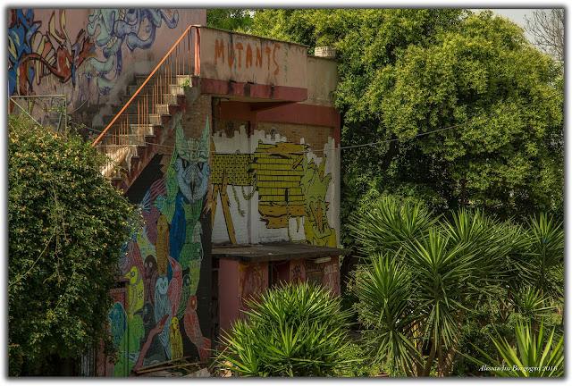 Lago Ex Snia, Roma - Street art
