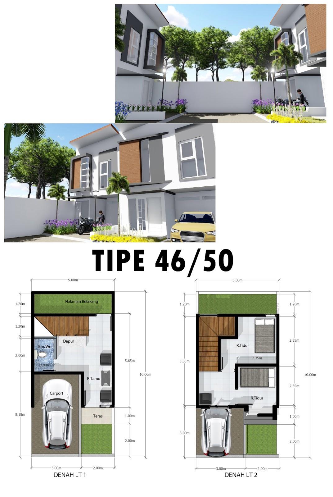 ini adalah gambar denah serta desain 3D rumah villa di Cluster Jade - Exotic Panderman Hill yang terletak di Batu Malang dekat Jatim Park dan BNS.
