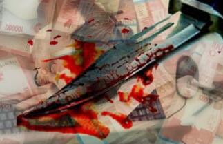 blogger mati saat ngeblog karena uang