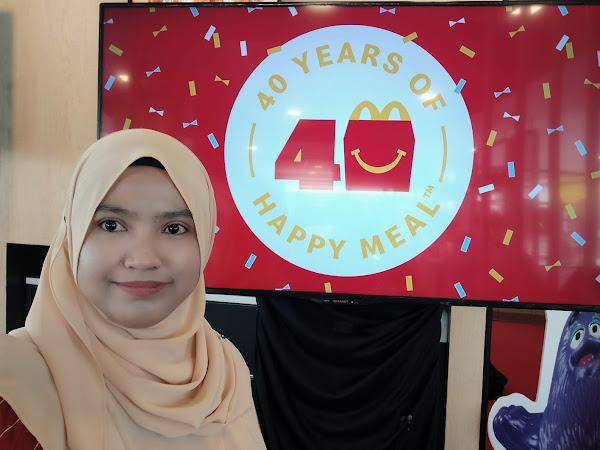 Jom kumpul mainan Surprise Happy Meal sempena Anniversary ke 40