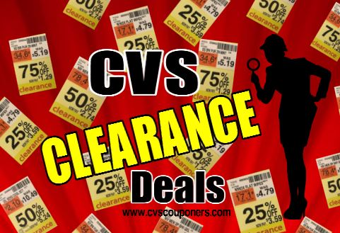 cvs couponers cvs clearance deals finds