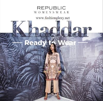 Republic Ready To Wear Khaddar 2018