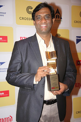 Chanakya in You by Radhakrishnan Pillai wins the Raymond Crossword Book Award popular award in Business and Management category