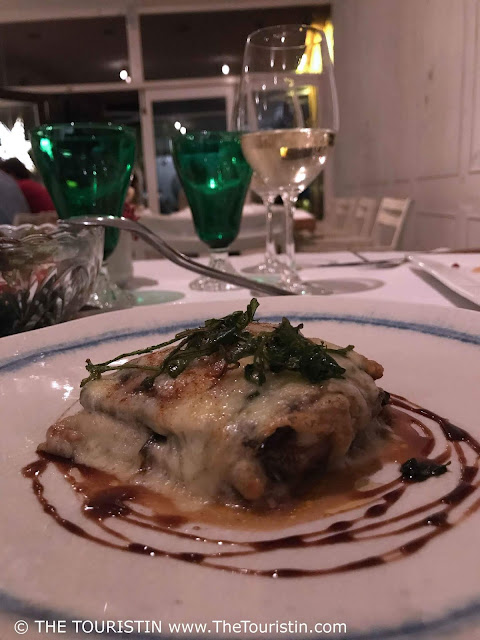 Travel Cuba. Where to eat vegetarian in style in Havana the touristin cuba Otramanera aubergine dish