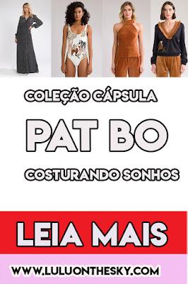 """Coleção Cápsula """"Costurando Sonhos """" - PatBo"""