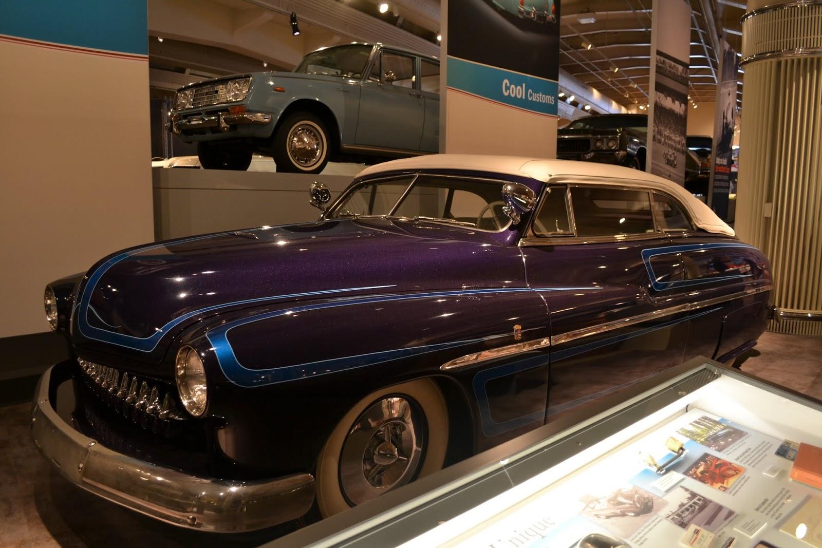 1949 Mercury. Музей Генри Форда. Дирборн, Мичиган (Henry Ford Museum, Dearborn, MI)