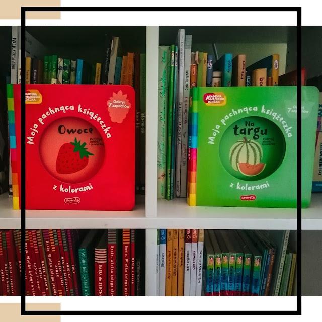 Książki pachnące jedzeniem