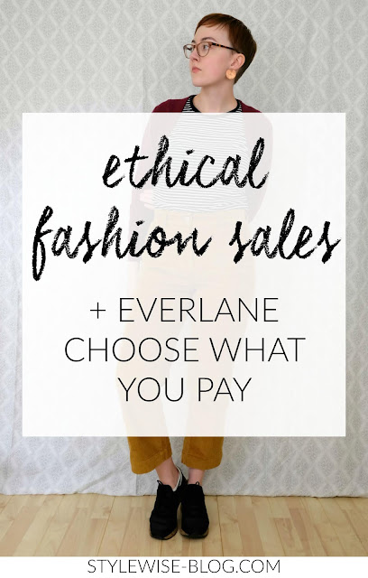 everlane choose what pay holiday sale and ethical fashion sales stylewise-blog.com