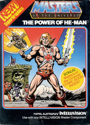 Portada videojuego Masters of the Universe - The Power of He-Man